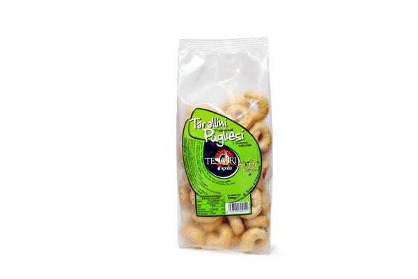 Tarallini tradizionali pugliesi ai semi di finocchio